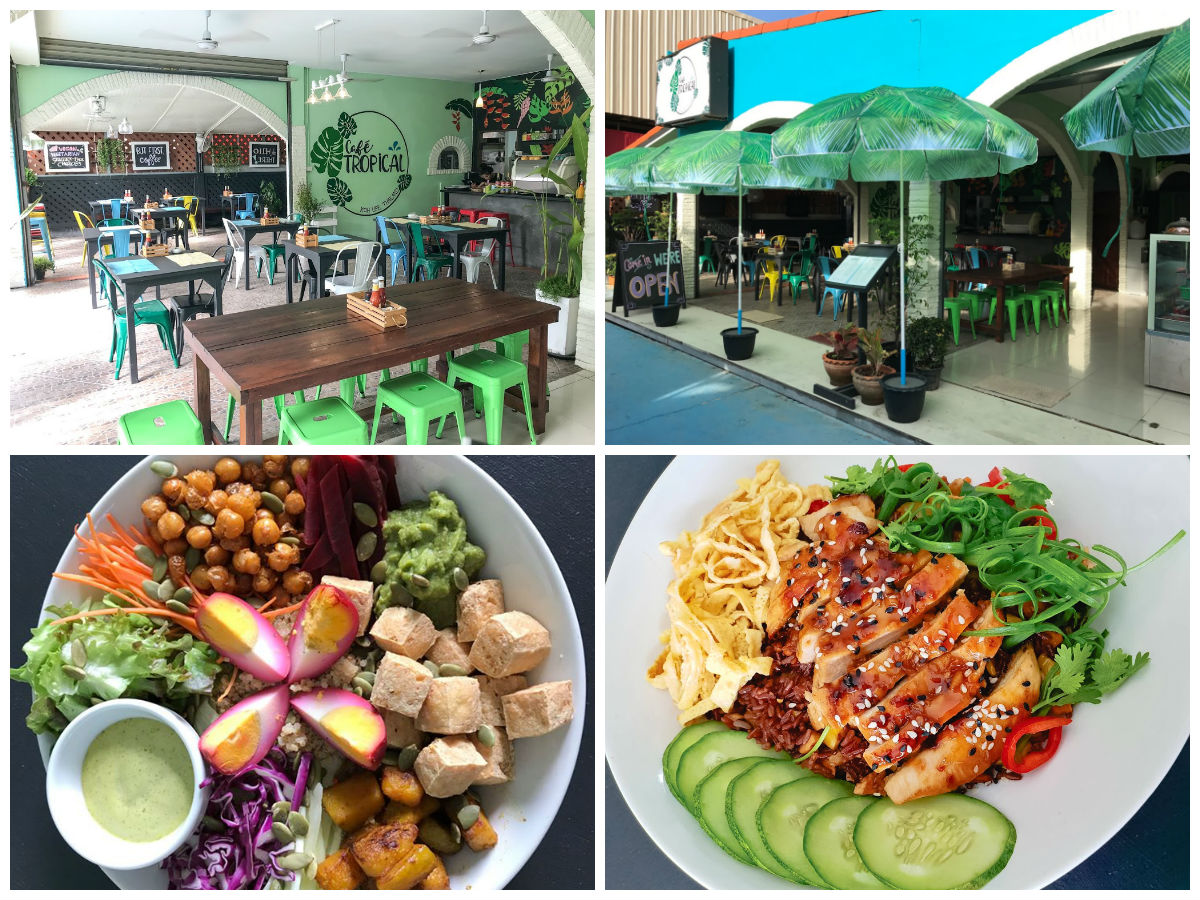 collage Cafe Tropical in Koh Lipe, Thailand