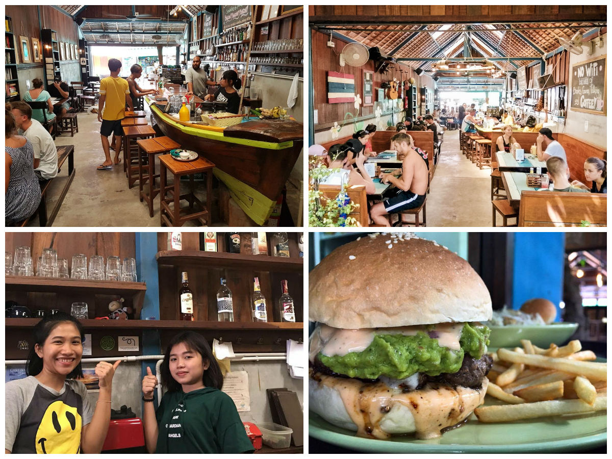 collage Elephant restaurant in Koh Lipe, Thailand