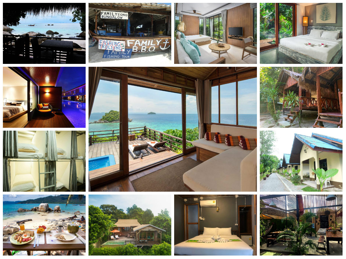 collage hotels koh lipe