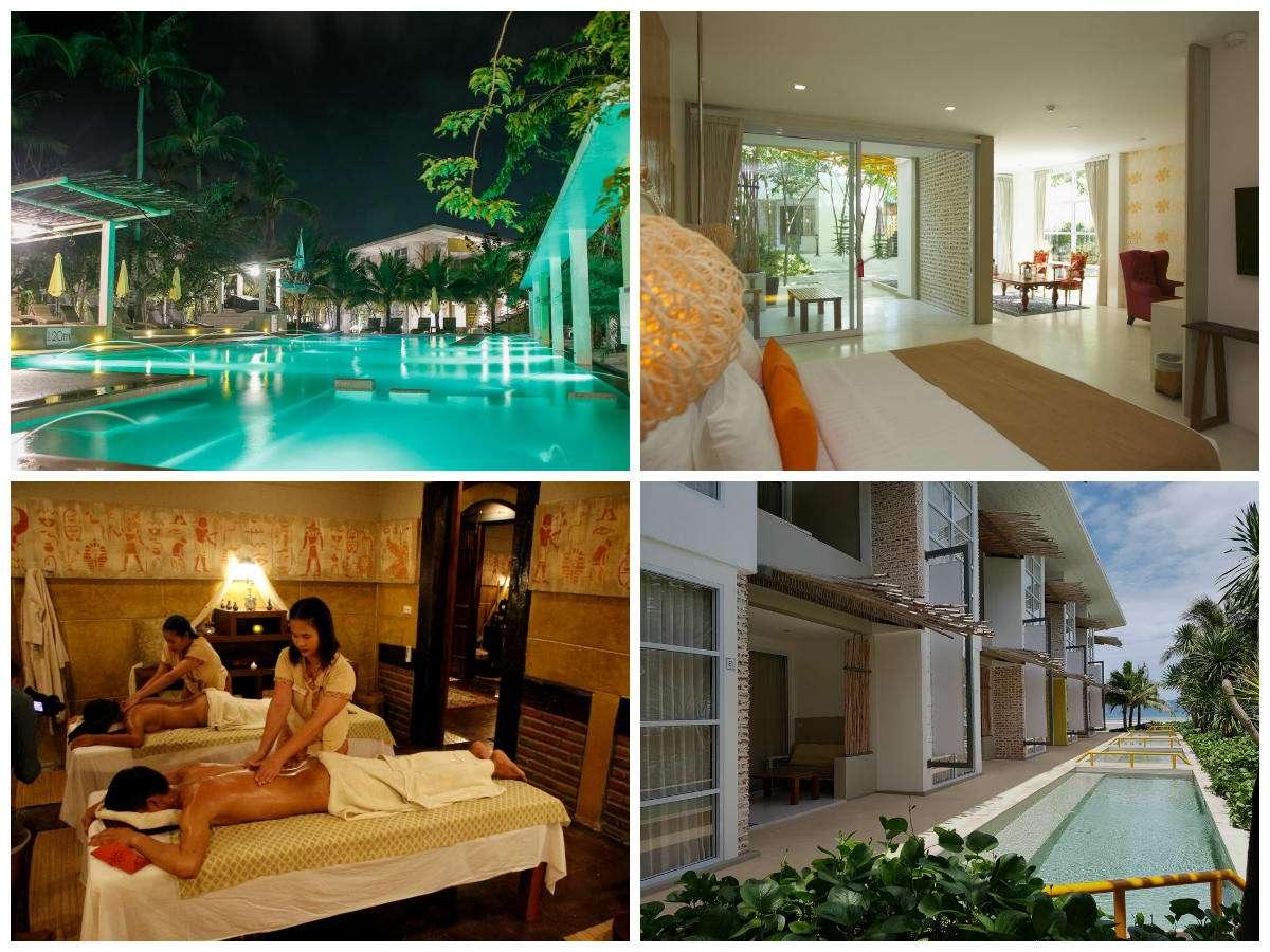 Collage van Summer Luxury Beach Resort in Thong Sala, Koh Phangan, Thailand