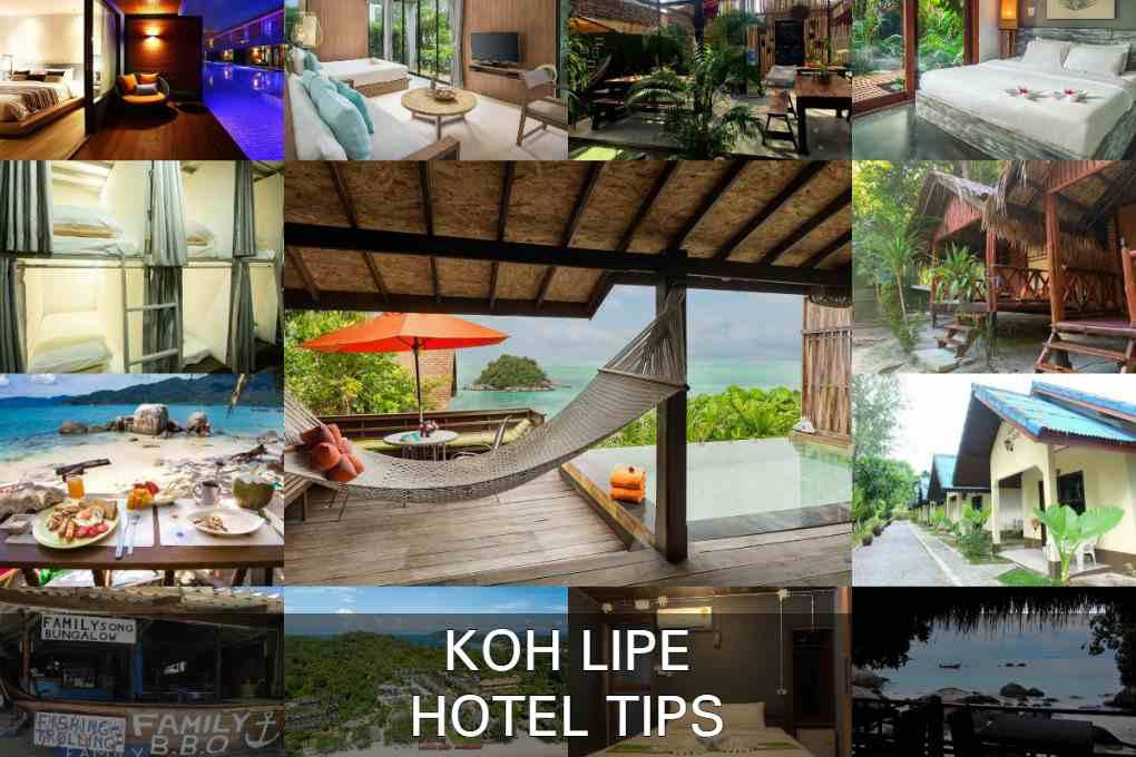 12 Hotels Op Koh Lipe, Thailand