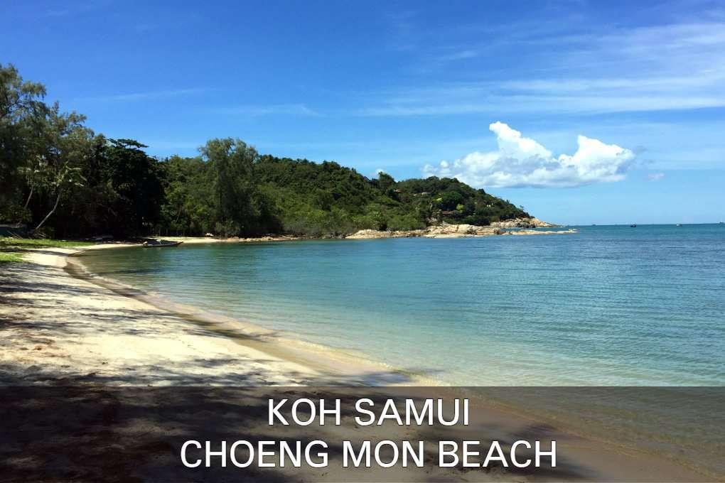 Foto Choeng Mon Beach, Klik Hier Voor Alle Informatie Over Choeng Mon Beach Op Het Eiland Koh Samui In Thailand.