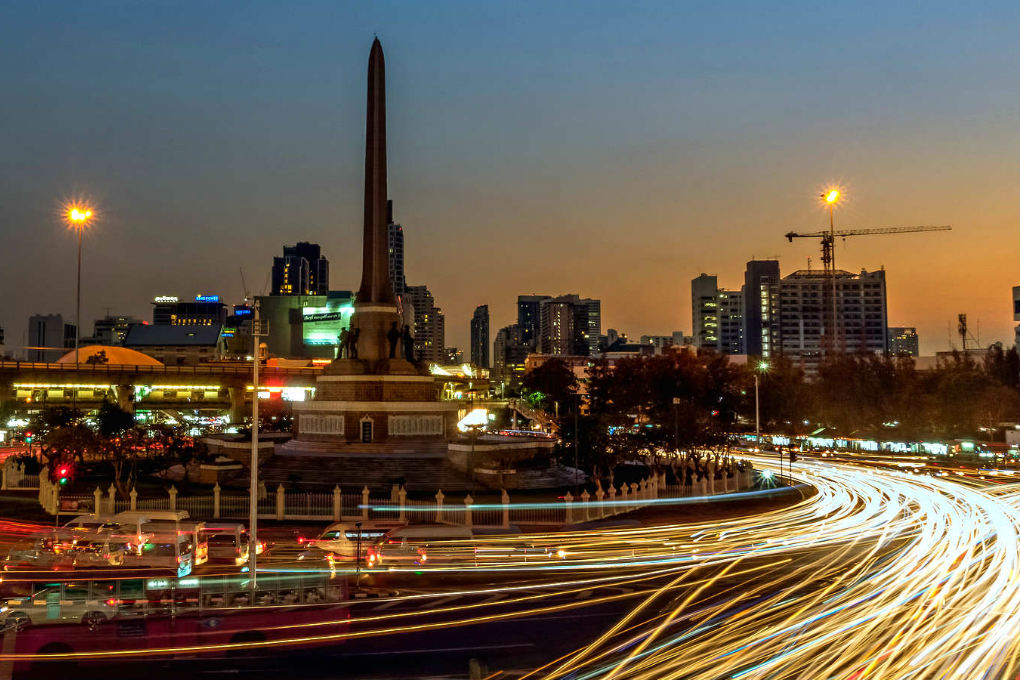 Read all about the Victory Monument, the area and Boat Noodles in Bangkok, Thailand.