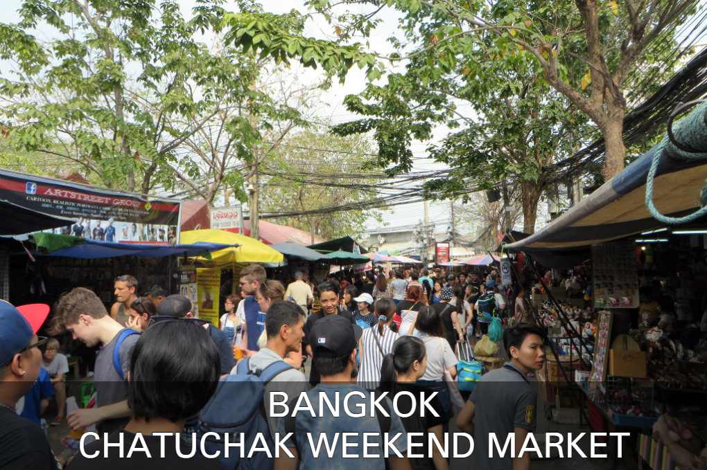 Lees hier alles over de Chatuchack Weekend Market in Bangkok, Thailand