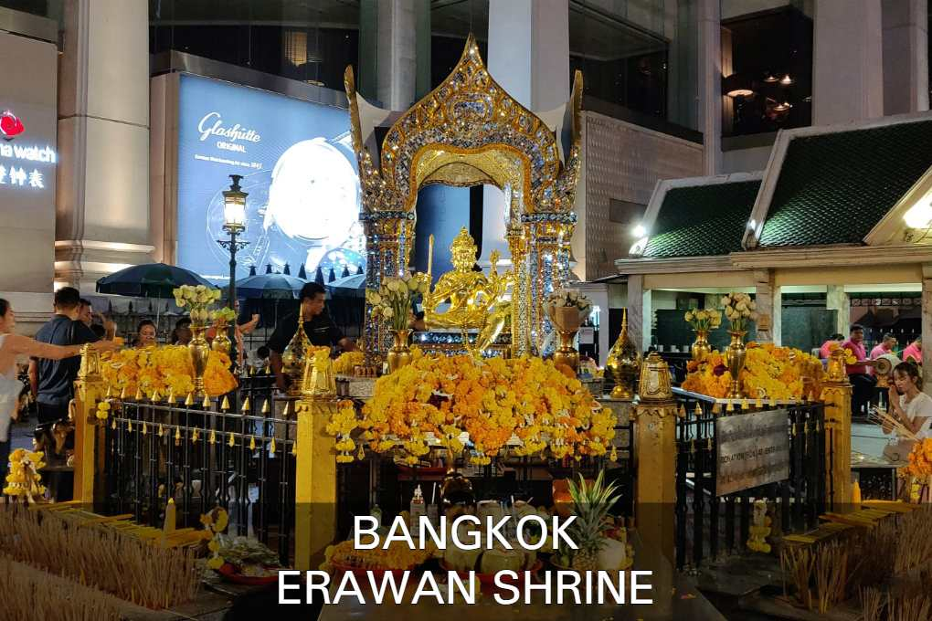 Lees Hier Alles Over De Erawan Shrine In Bangkok, Thailand