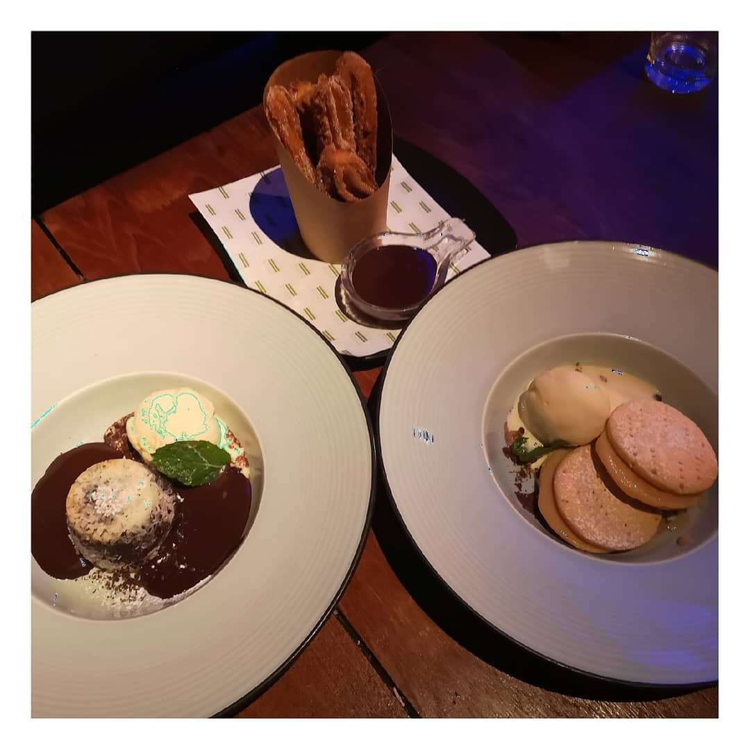 Desserts at Above Eleven