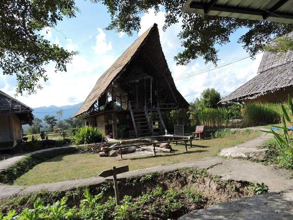 An dormitory outdoor at Spicy Pai Backpackers