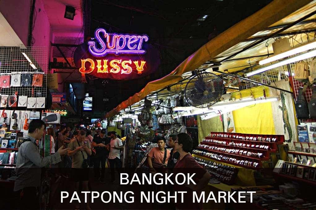 Lees Hier Verder Voor Alles Wat Je Moet Weten Over De Patpong Night Market DE Plek Voor Namaak Kleding In Bangkok.