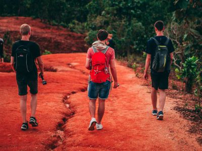 Backpackers In Pai