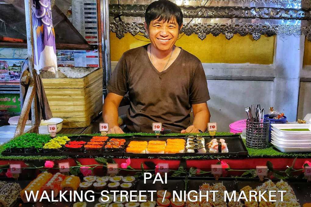 Lees Hier Alles Over De Pai Walking Street & Night Market In Pai, Thailand