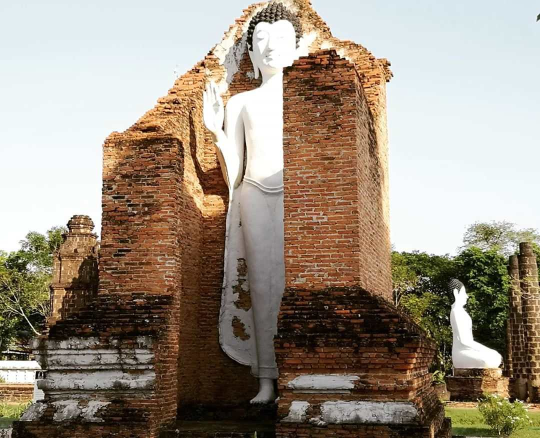 Large images of significance for Thai culture in Ancient City Bangkok, Thailand