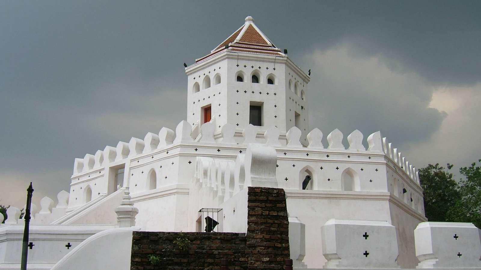 Phra Sumen Fort, oud wit fort van tw