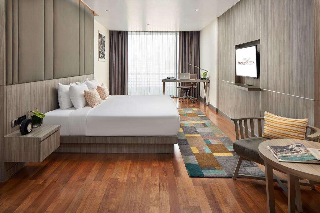 Het appartement van de Fraser Suites in het Nana gebied van Bangkok