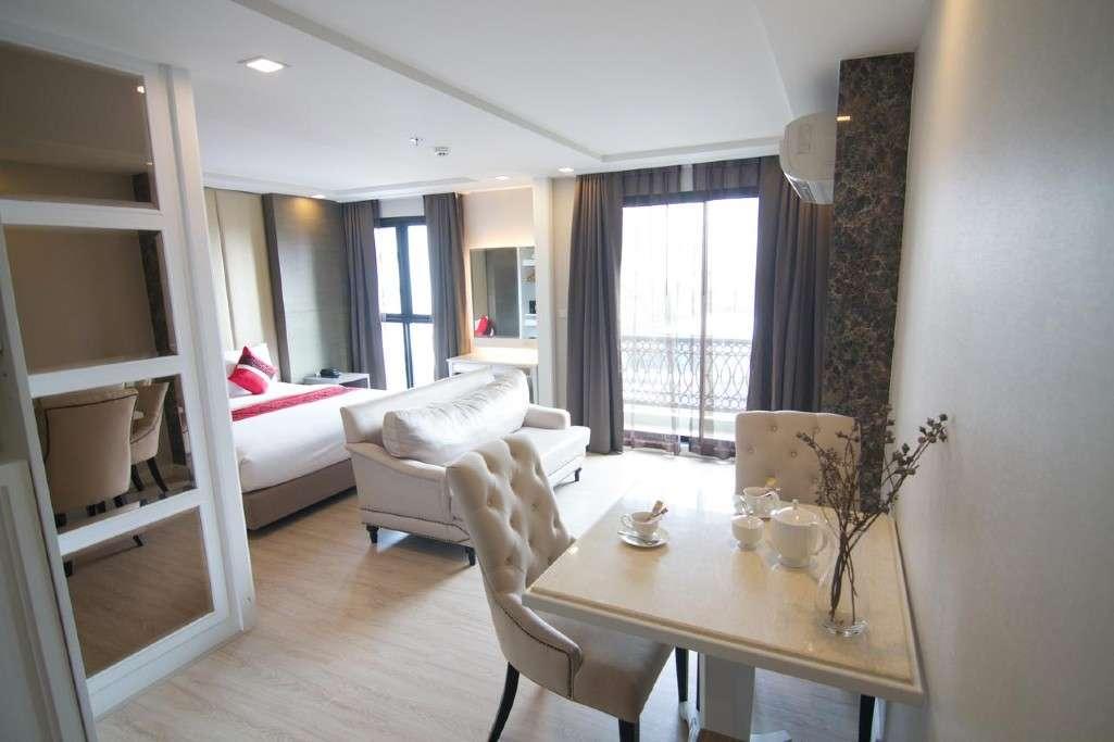 De kamer van het Hope Land Hotel