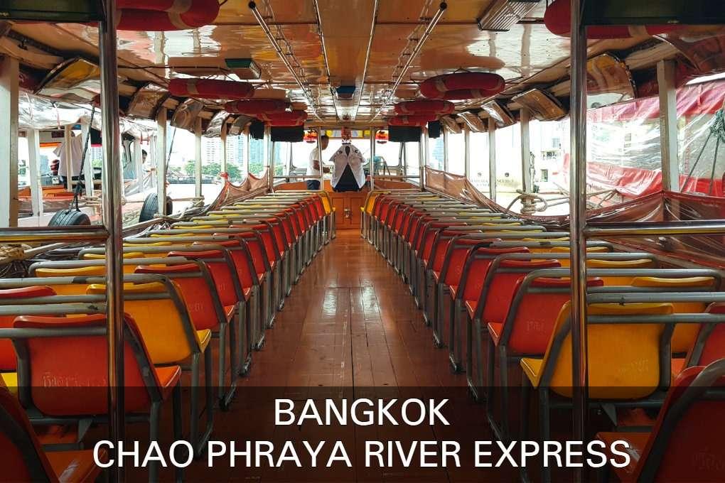 Lees Hier Verder Voor Informatie Over De Chao Phraya River Boot, Vervoer In Bangkok, Thailand