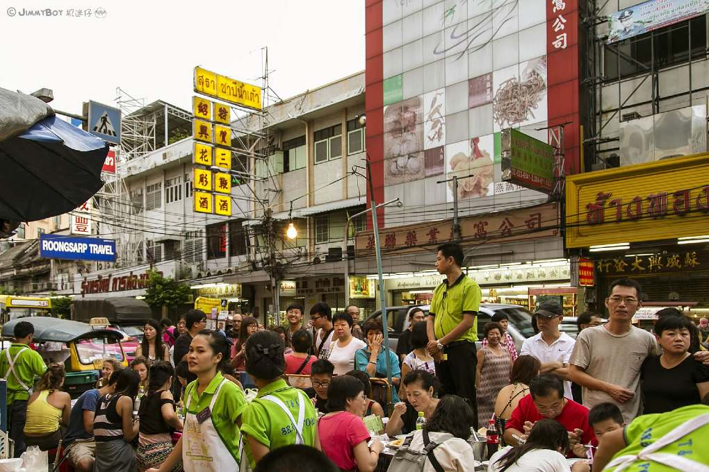 Hustle and bustle at T&K Seafood in China Town