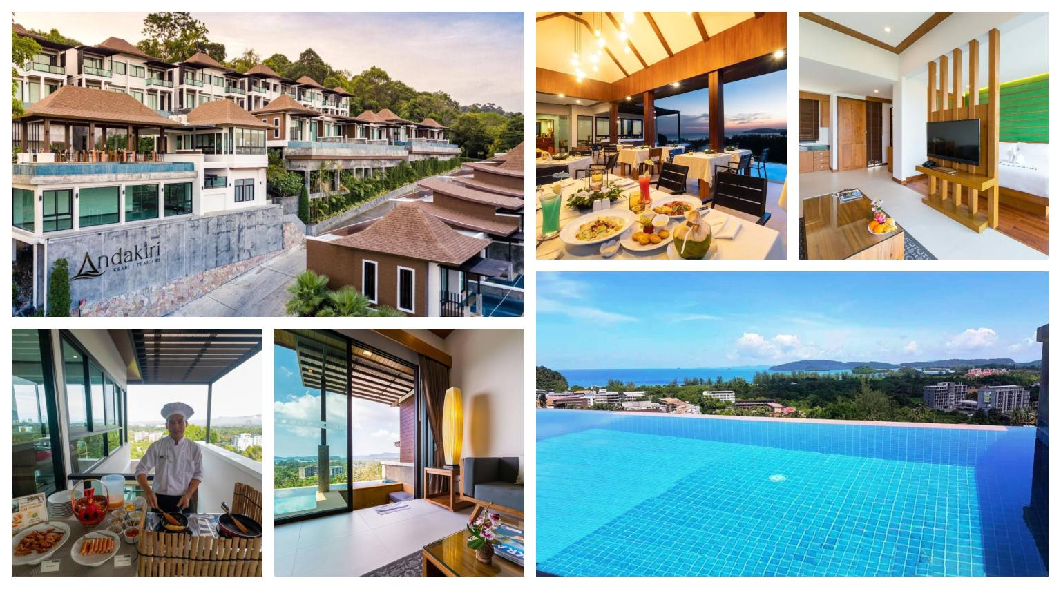 Collage Andakiri Pool Villa in Ao Nang, Thailand