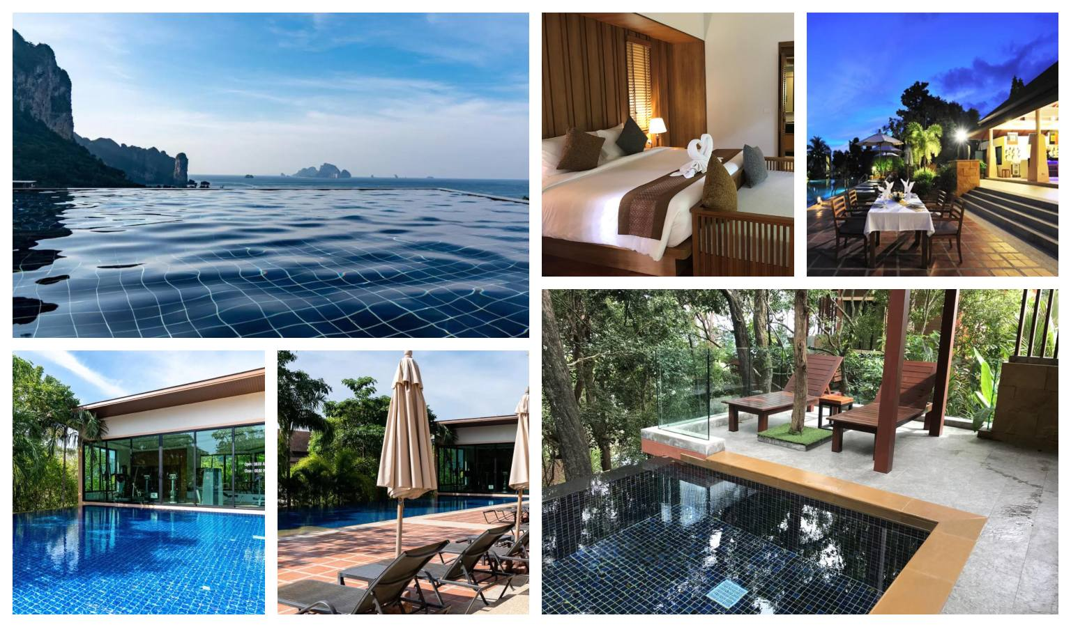 Collage Ao Nang Cliff Beach Resort in Ao Nang, Thailand