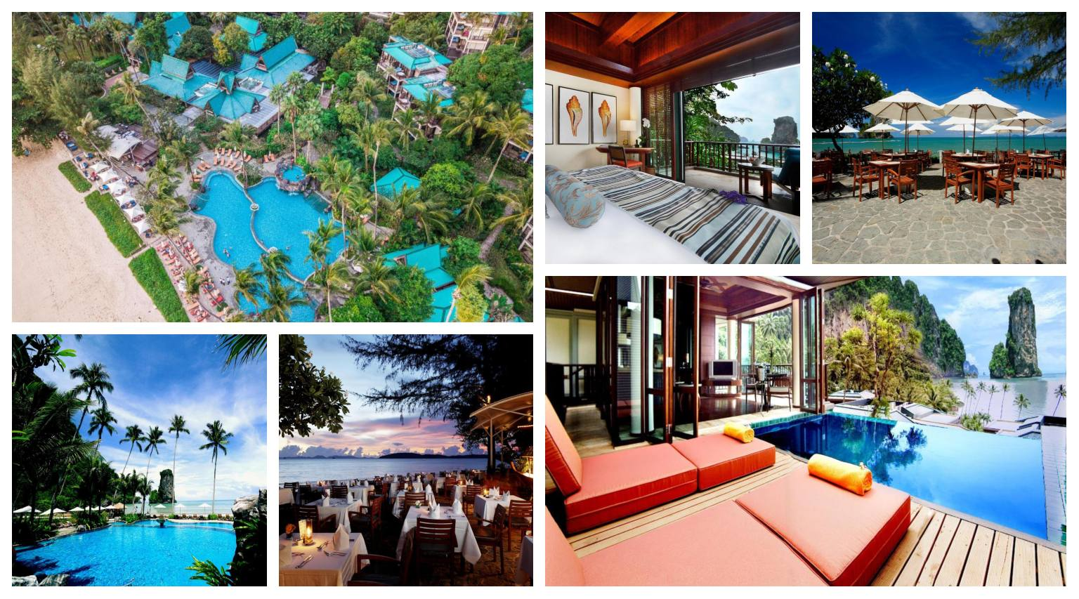 Collage Centara Grand Beach Resort & Villas in Ao Nang, Thailand