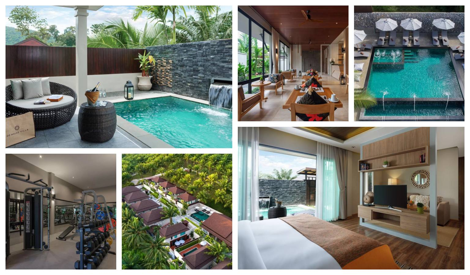 Collage De Malee Pool Villa in Ao Nang, Krabi in Thailand