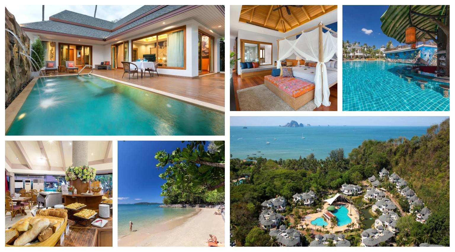 Collage Krabi Resort in Ao Nang, Thailand