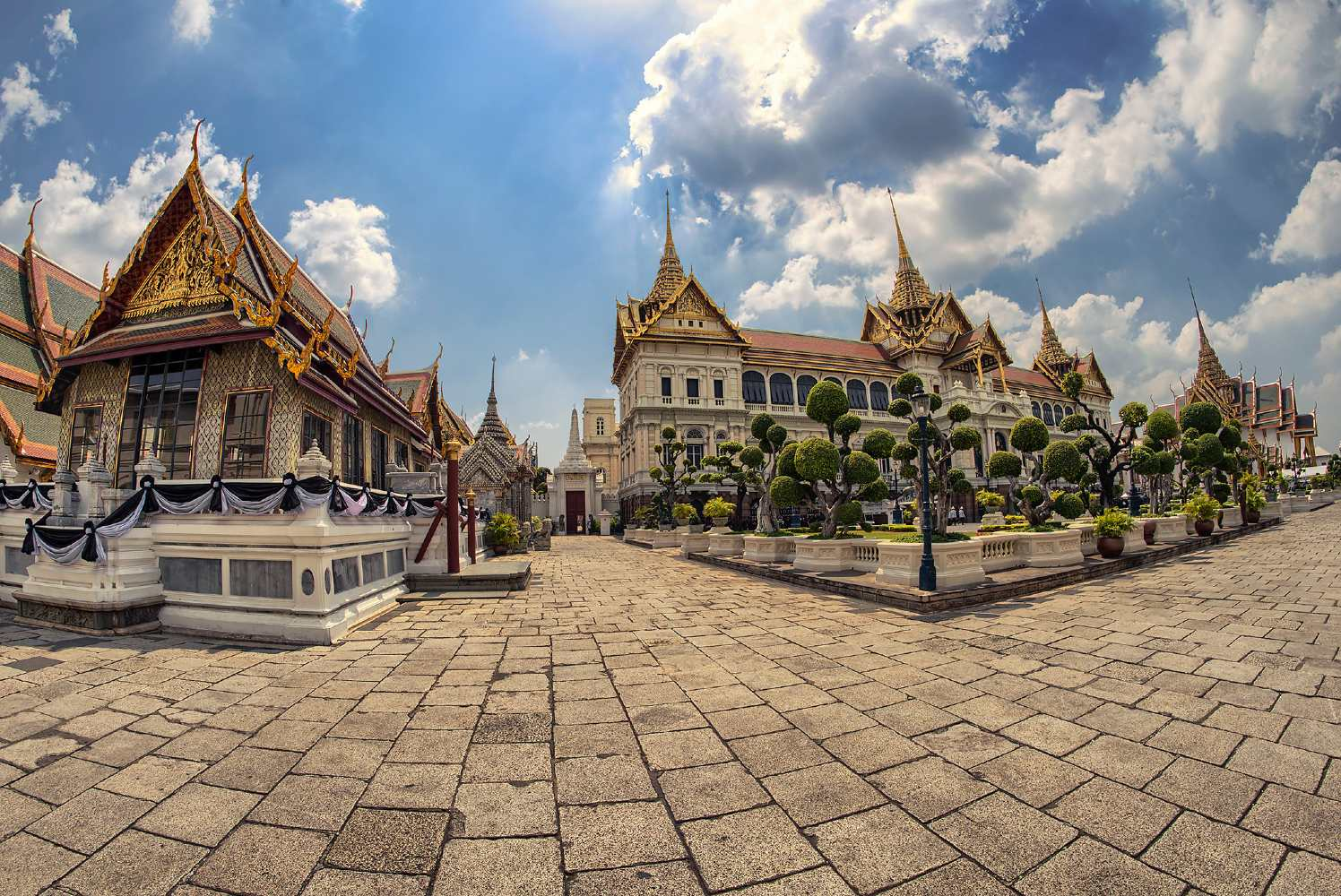 Part of the Grand Palace complex