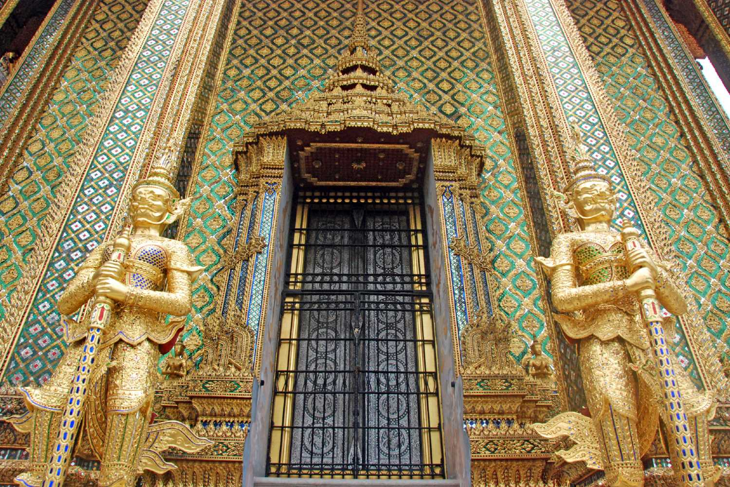 Phra Mondop on the grounds of the Grand Palace in Bangkok, Thailand