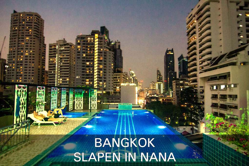 Find the very best places to sleep in Nana in Bangkok, Thailand.