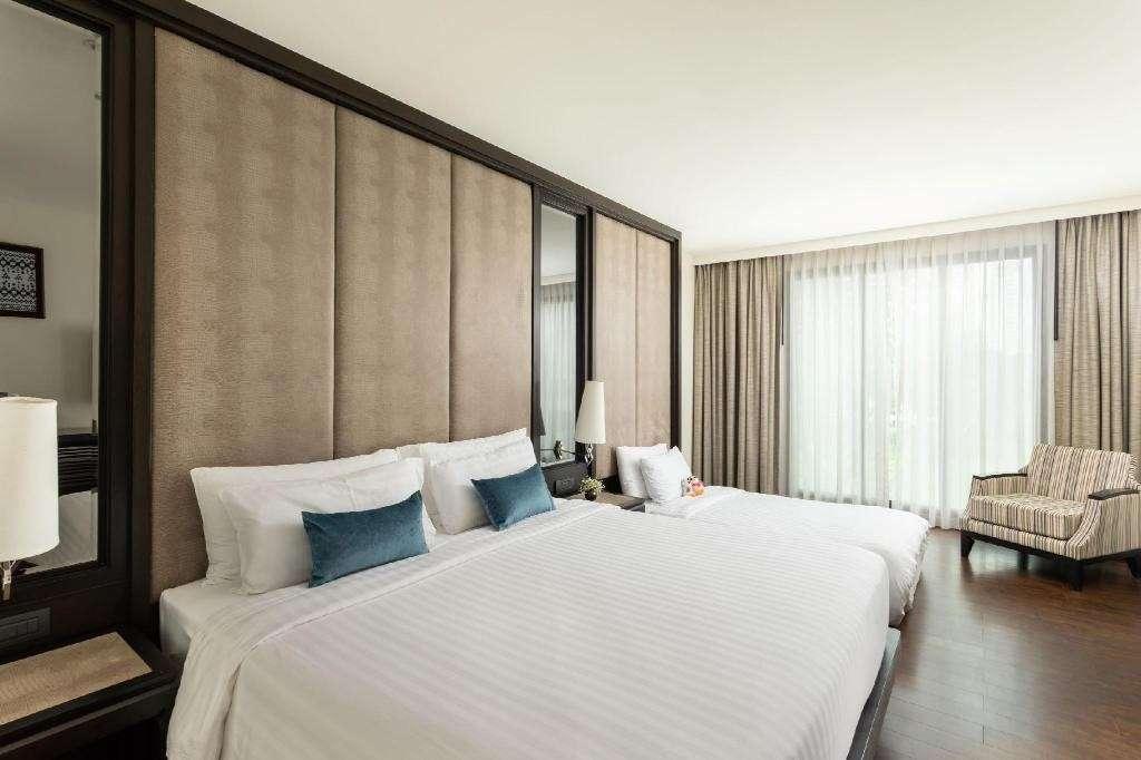 Een kamer van het Mövenpick Hotel Sukhumvit 15 Bangkok