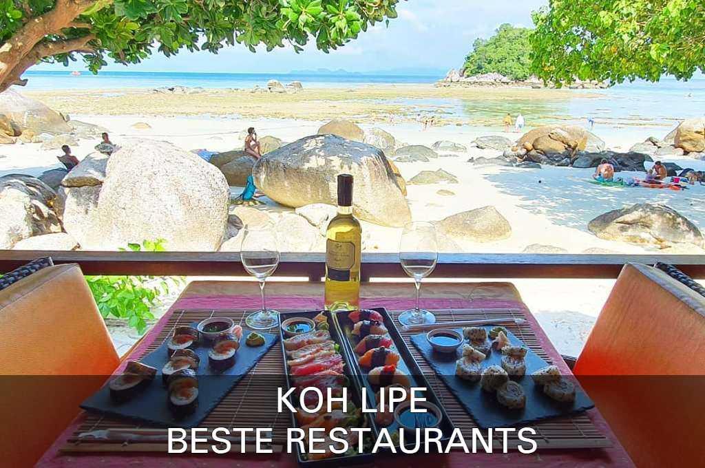 Klik Hier Voor De Beste Restaurants Op Koh Lipe