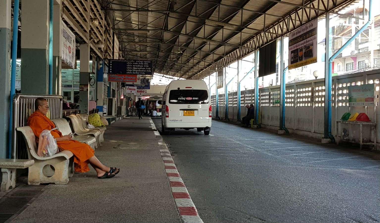 Hat Yai busstation in Thailand