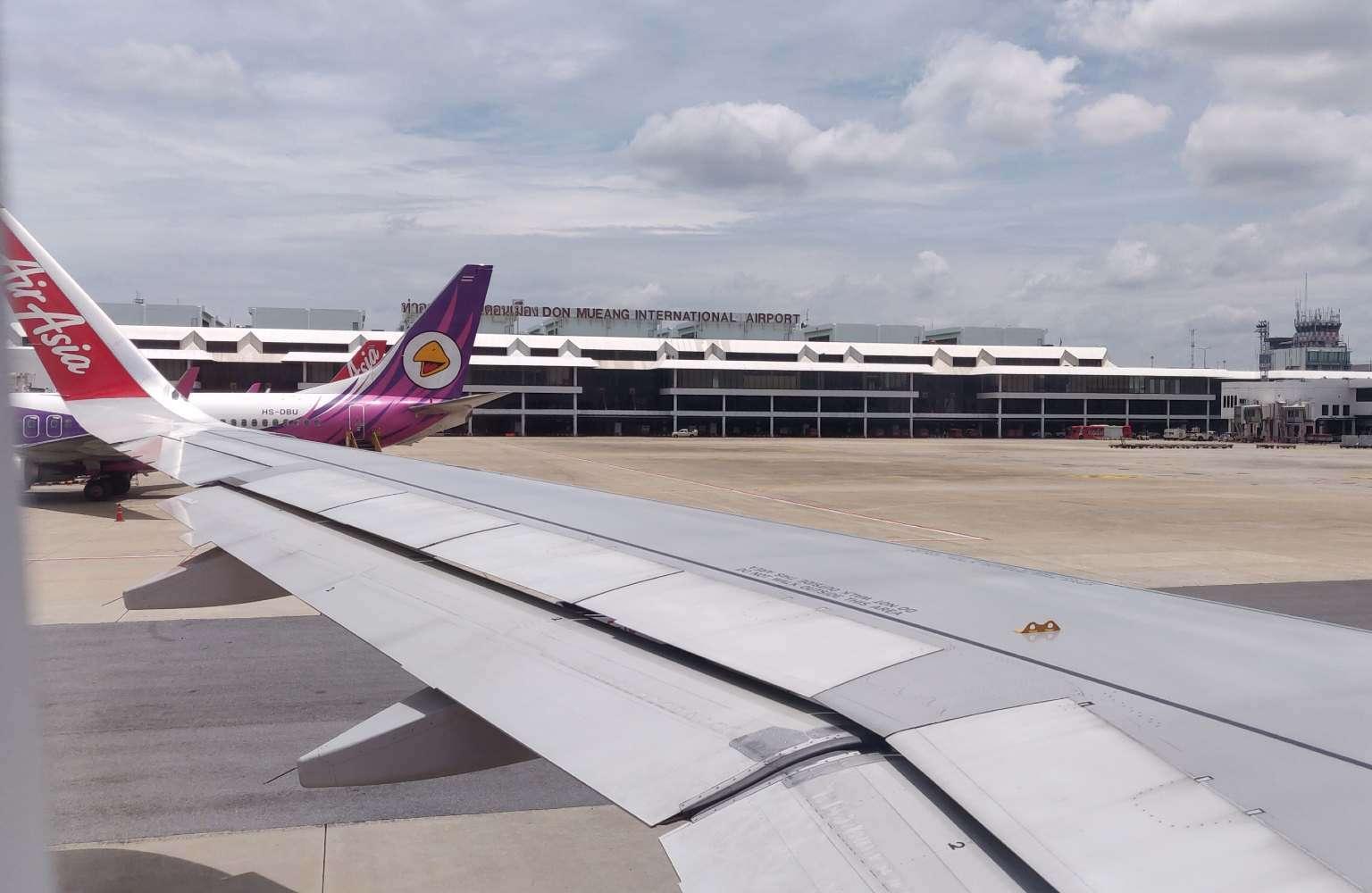 Met het vliegtuig van Air Asia vanaf Don Mueang vliegvelt in Bangkok naar Hat Yai