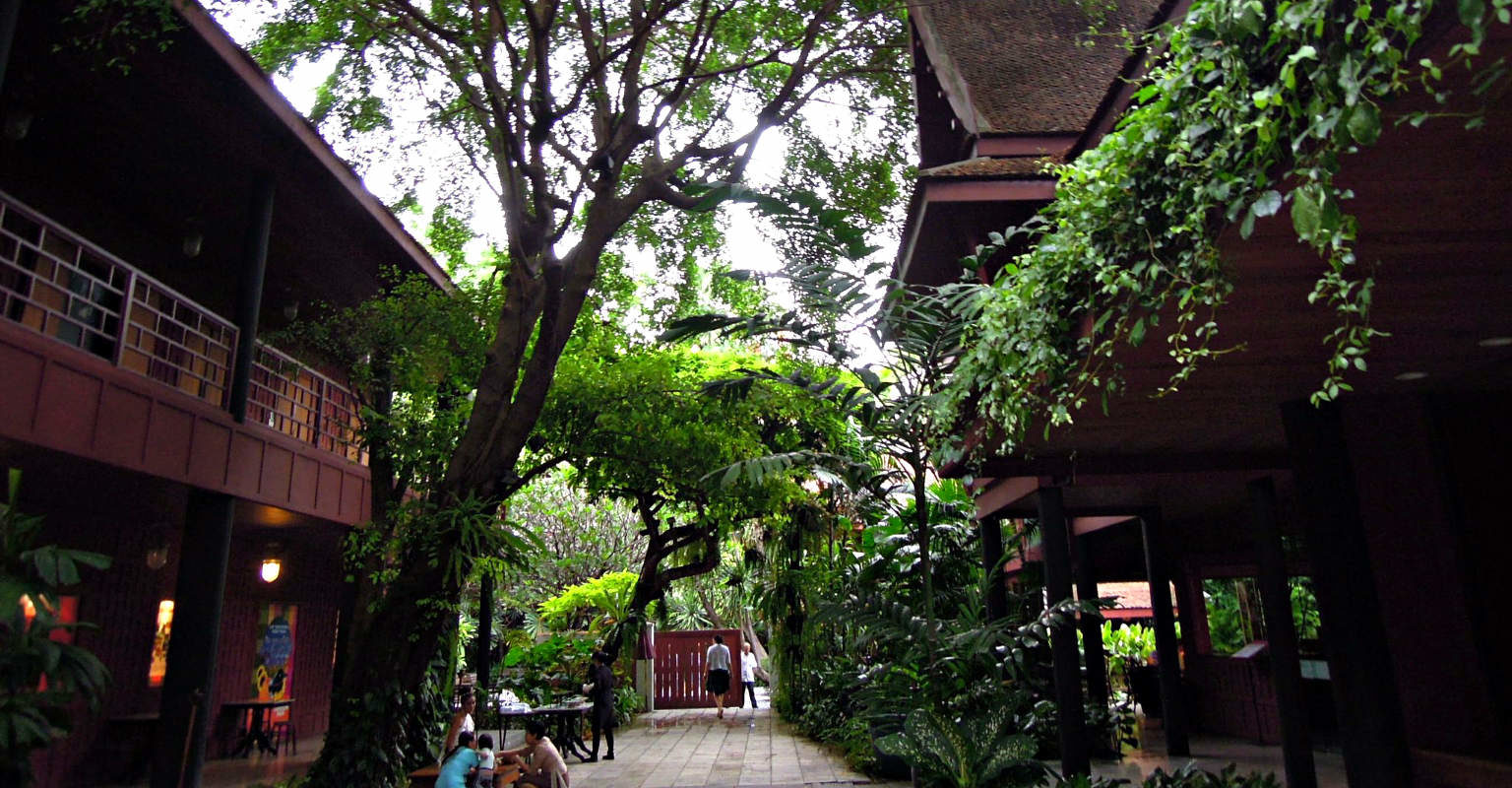Jim Thompson House & Museum located in Siam Square