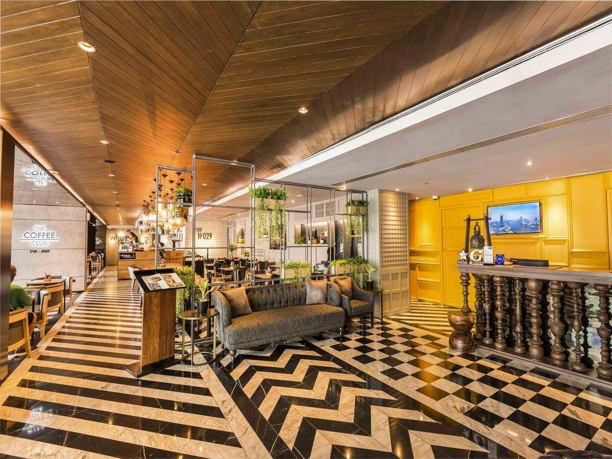 De lobby van het Maitria Hotel in Asok (Bangkok)