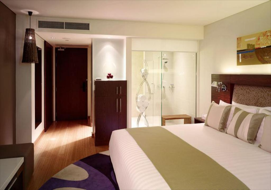 A room of the Park Plaza Sukhumvit in the Asok area of Bangkok