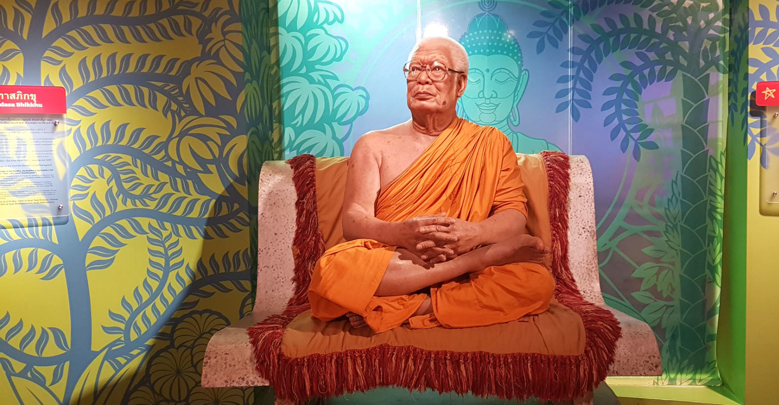 Boeddha in Madame Tussauds