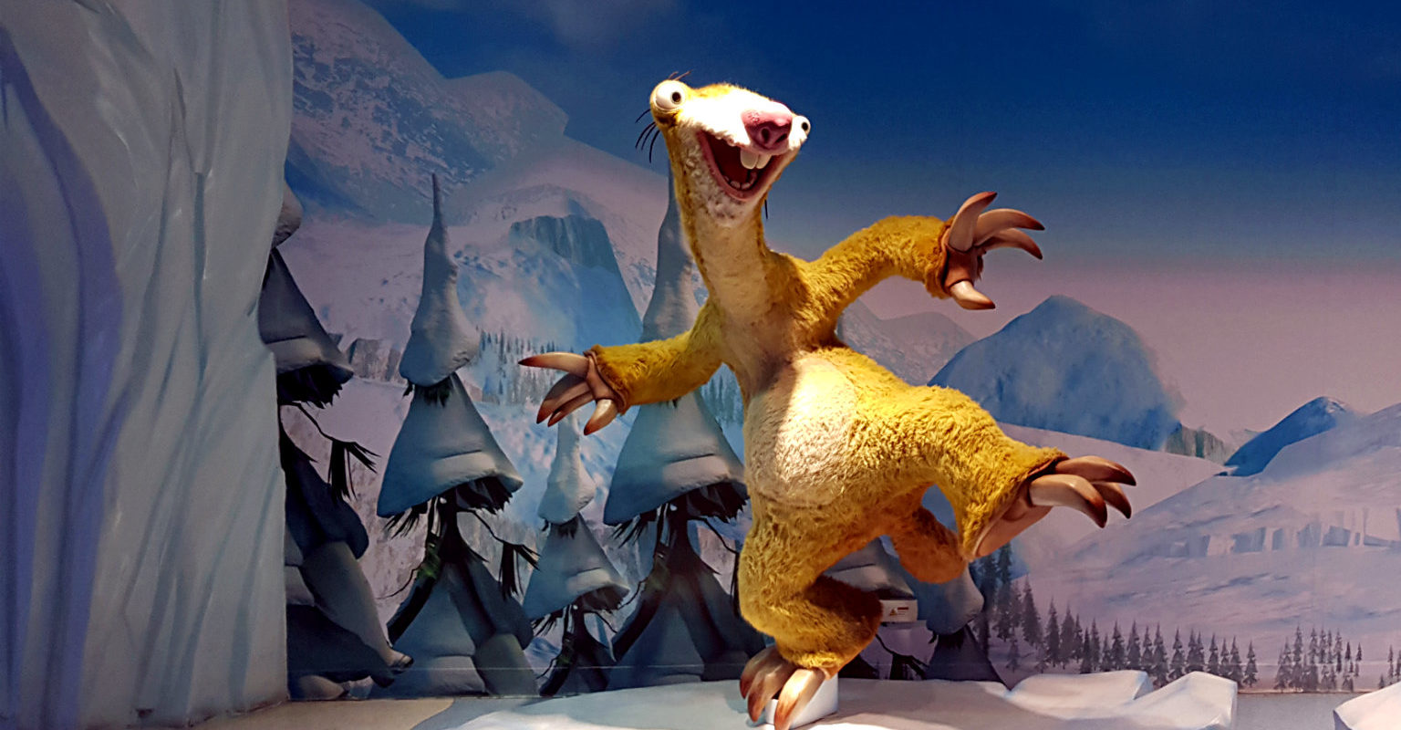 Ice Age $D film Madame Tussauds