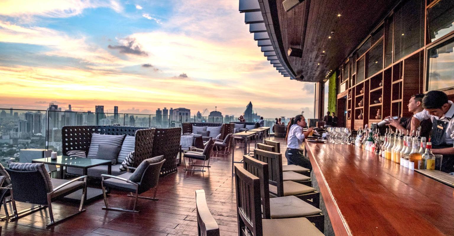 Bar van Octave Lounge & Bar in Bangkok