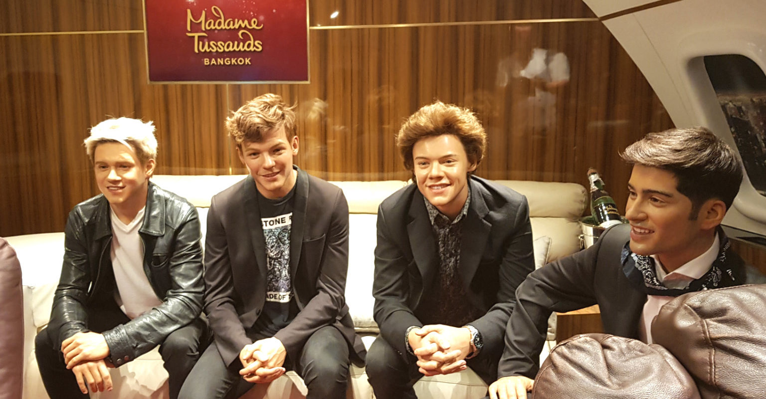 One Direction in Madame Tussauds