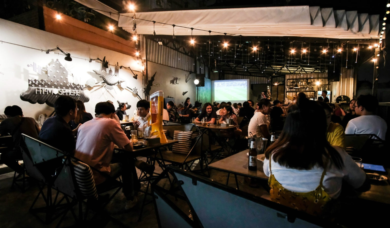 Atmosphere image of At-mosphere rooftop cafe in Bangkok, Thailand