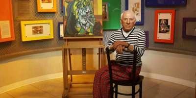 Wassenbeeld Van Picasso In Madame Tussaud Bangkok