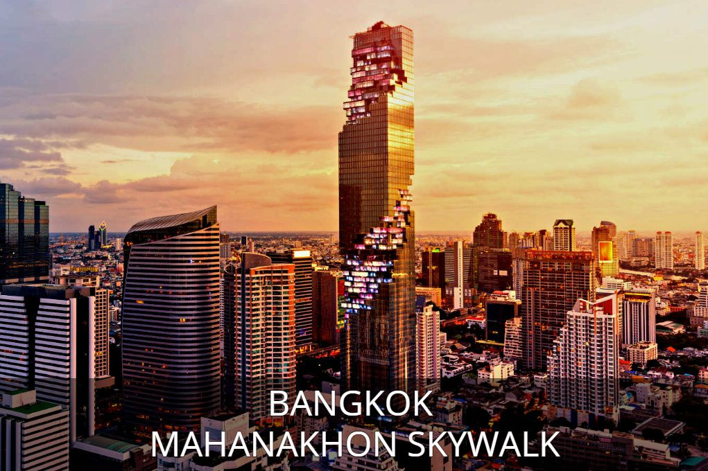 Click here to learn all about Mahanakhon SKyWalk in Bangkok, Thailand
