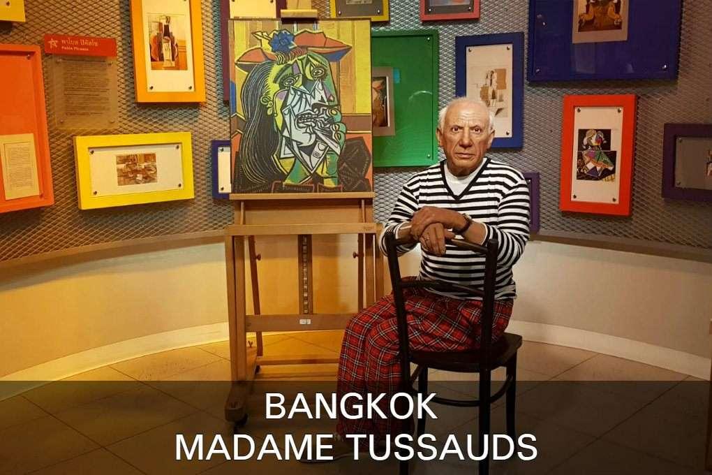 Wassen Beeld Picasso Lees Hier Alles Over Madame Tussauds Bangkok