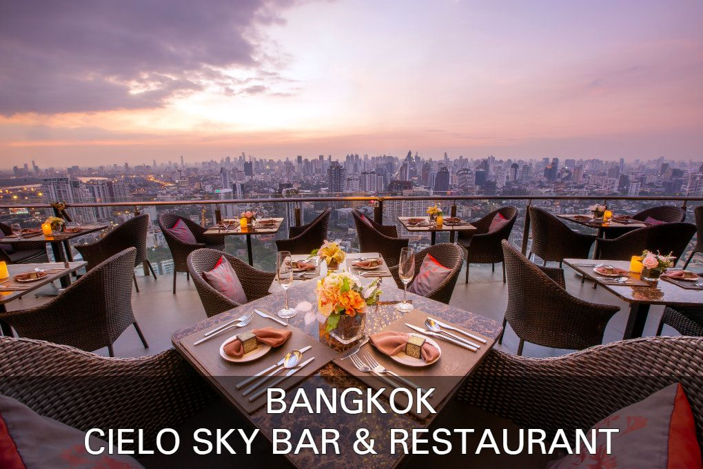 Read all about Cielo Sky Bar & Restaurant in Bangkok, Thailand here.