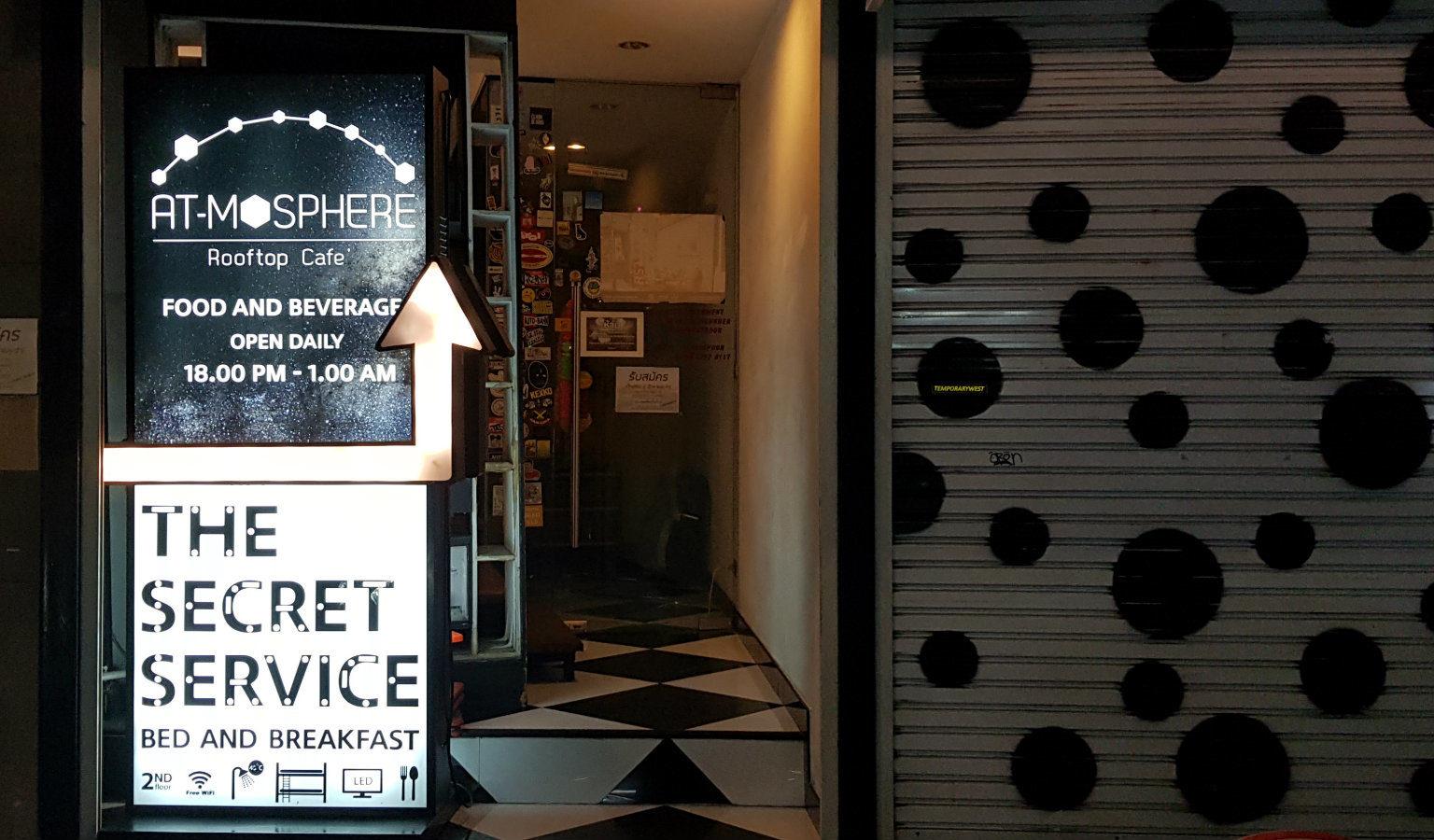 Entree At-Mosphere Rooftop Café in Bangkok, Thailand