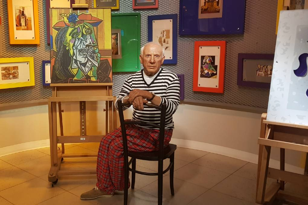 Pablo Picasso in Madame Tussauds, Bangkok
