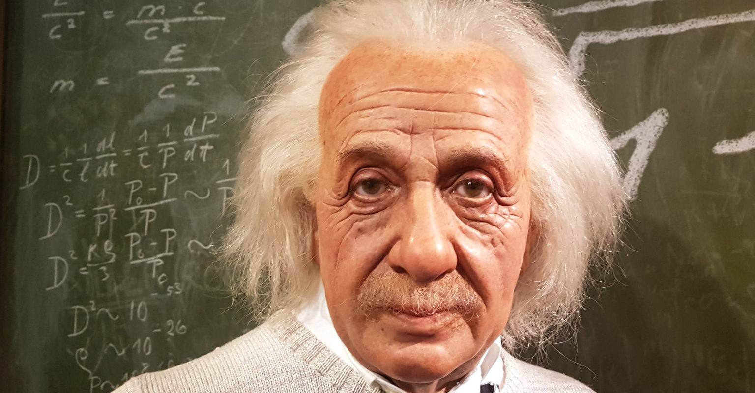 Einstein Madame Tussauds