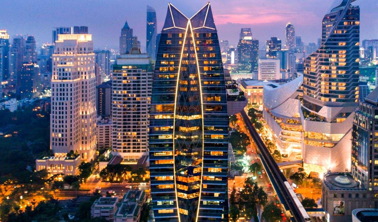 The Okura Prestige hotel in Bangkok