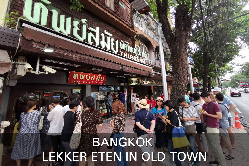 Here you can find the best restaurants of Old Town in Bangkok, Thailand
