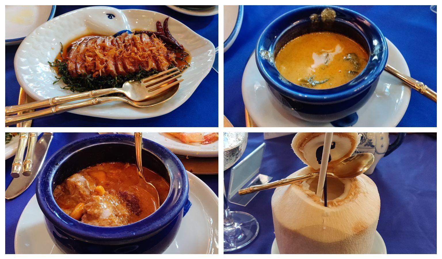 Blue Elephant Restaurant specialties